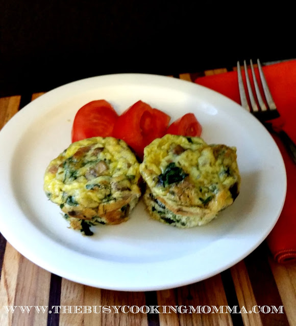 Omelet Cups Garlic Butter